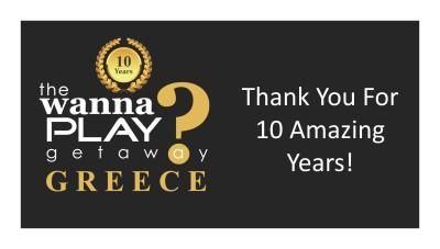 Wanna Play Getaway 2018 - Greece