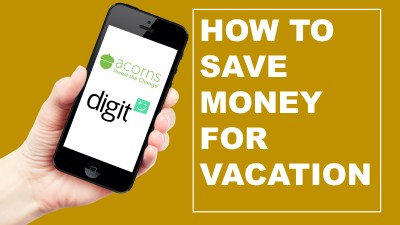 Saving money for vacation can be very difficult. Here are two apps that make it easier.