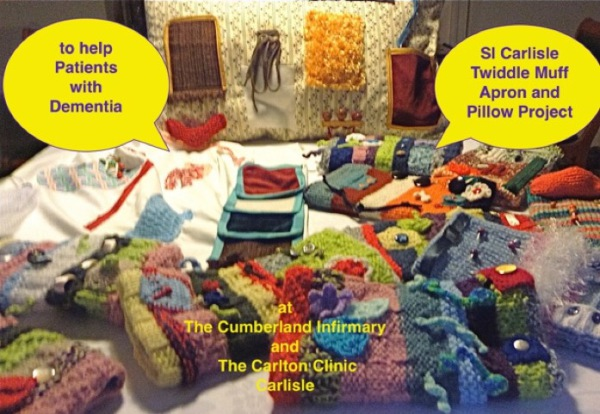 Twiddle Muffs for persons suffering from Dementia