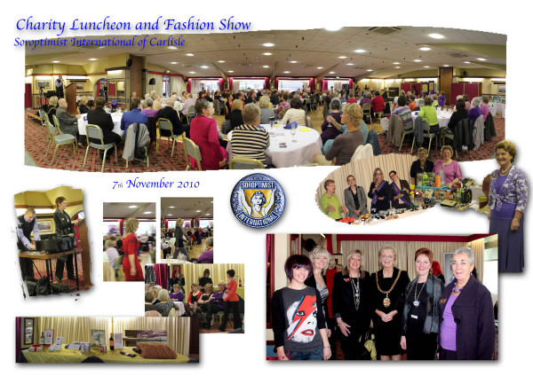 Charity Fashion Show and luncheon