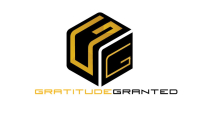 Double G in box Gratitude granted Logo Design