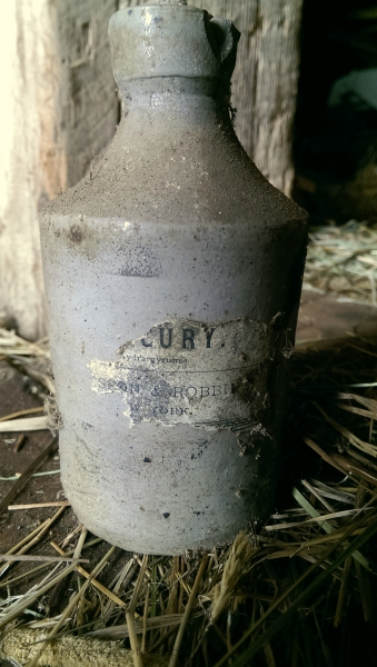 Antique Bottle of Mercury