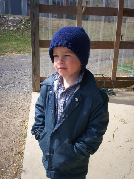 Amish-Mennonite Boy