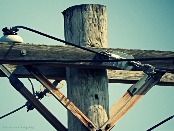 Top Of Electric Pole