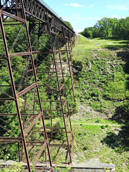 Portage Railroad Trestle
