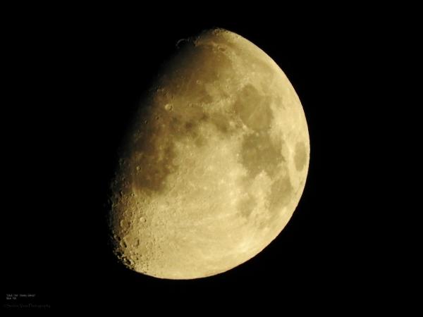 Waxing Gibbous Ascending Moon