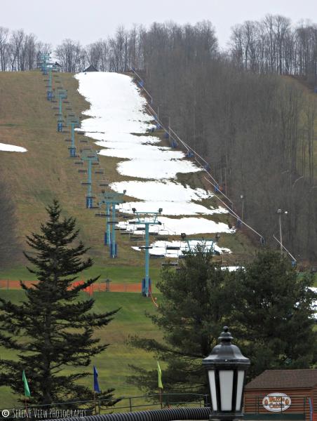 Ski Slopes At Holiday Valley