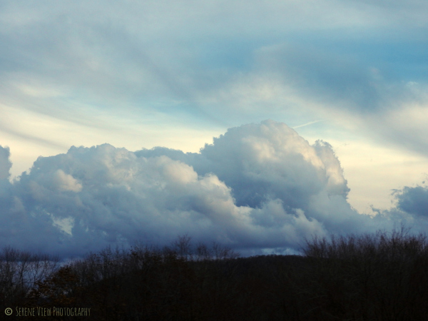 Clouds Over the Hills II