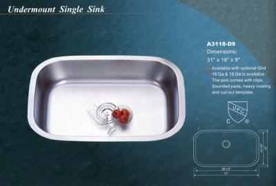 Alba Undermount Single Sink