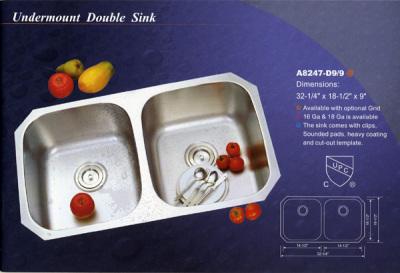 Alba Undermount Double Sink
