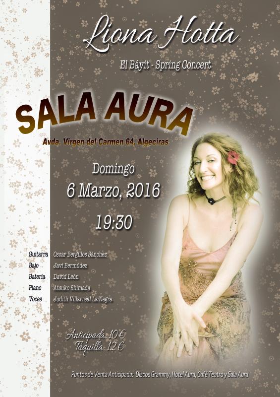 Liona Hotta Sala Aura Concert