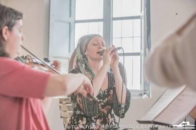 Serena Strings at Blanca Orozco Studio, Tarifa