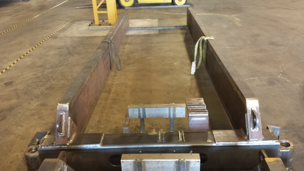 An example of some of our work, Spreader Beam Weldment