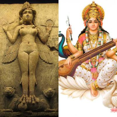Lilith vs. Saraswati Tarot Spread