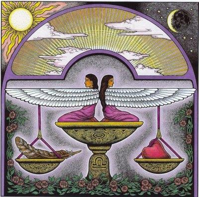 Full Moon - Lunar Eclipse heralds inner work and balance.