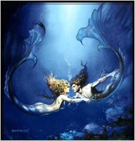 Full Moon in Pisces - Swimming the intensity