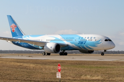 China Southern order $3.2 billion worth of Boeing 787's