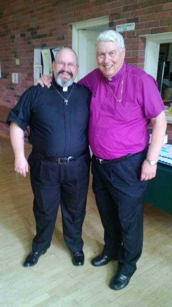 Fr. Dave and Bishop ++Ted