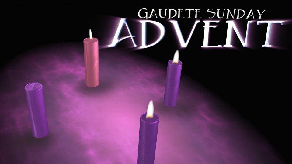 Gaudete Sunday 2019