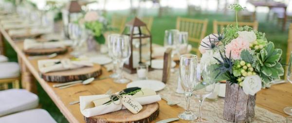 Reception Florals and Decor