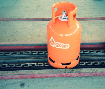 GS Gas safety LPG bottles