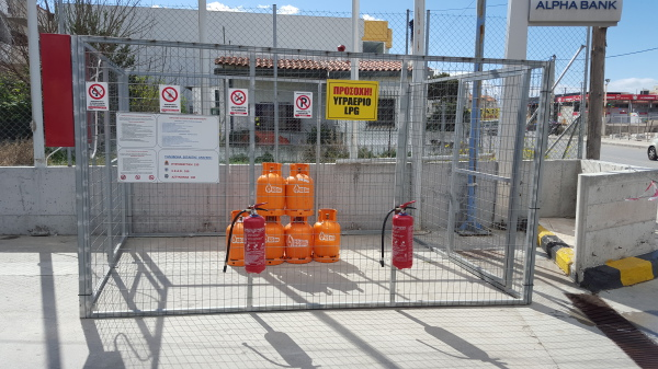 Safety GS Gas LPG bottled