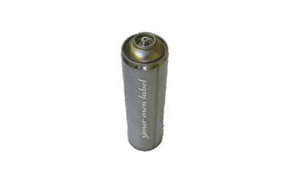 Private label tube type gas cartridge