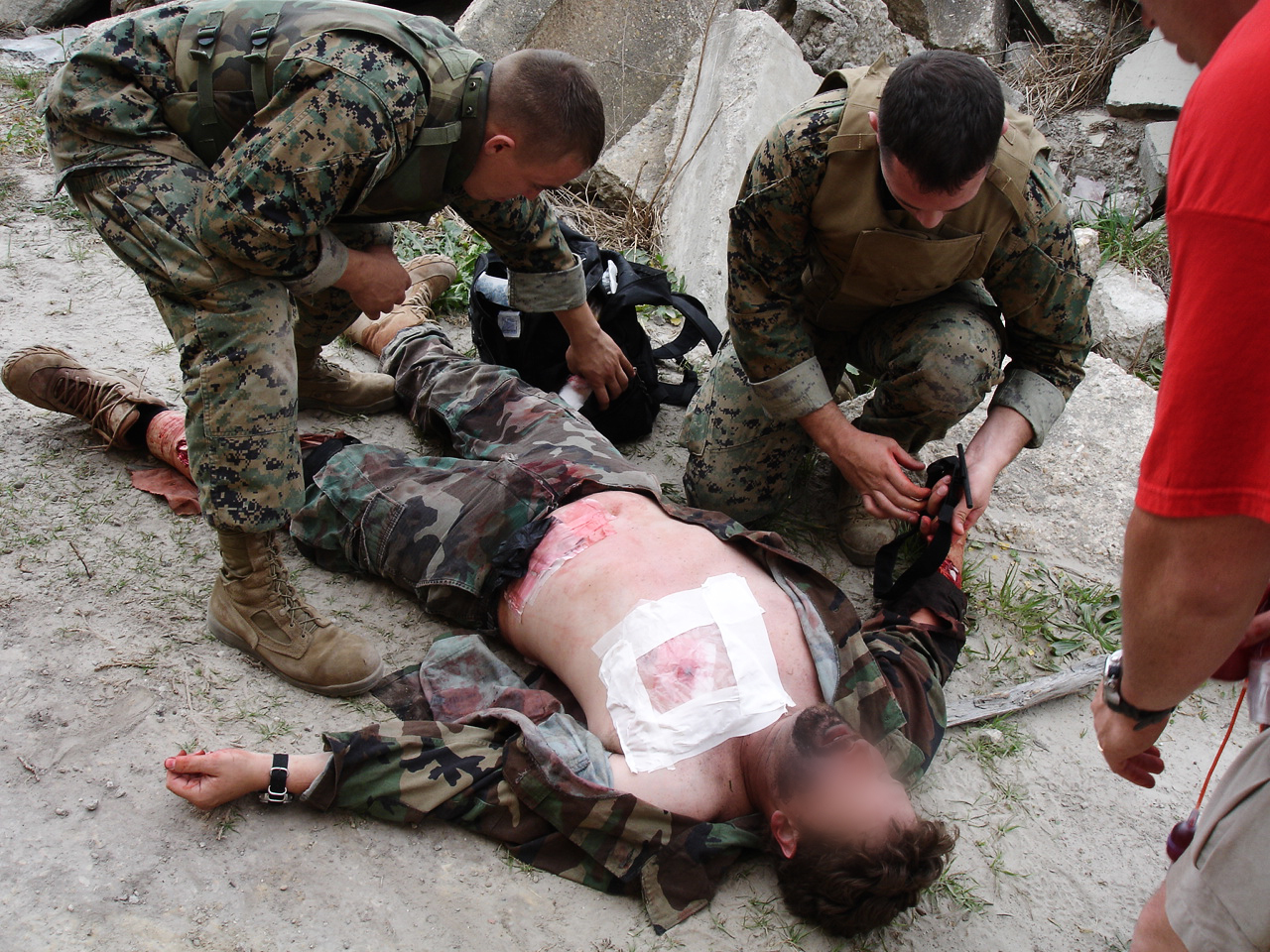 Tactical Medics International Military Training