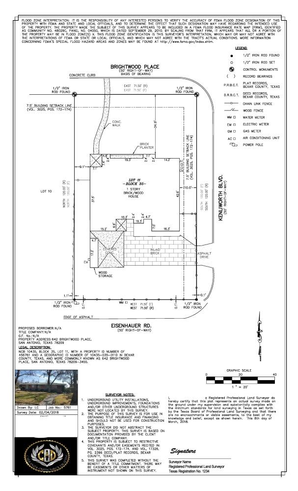 Autocad drafting, Cad services, Title survey, Boundary Survey