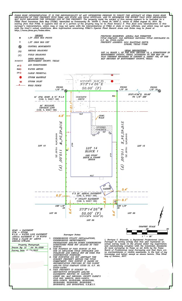 Survey drafting, cad services, Title, Houston