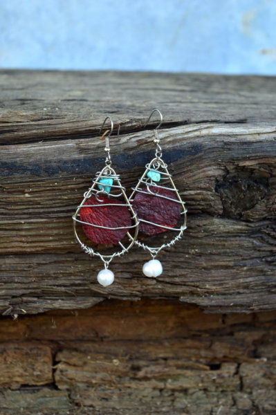 Liquid Rosebuds Earrings