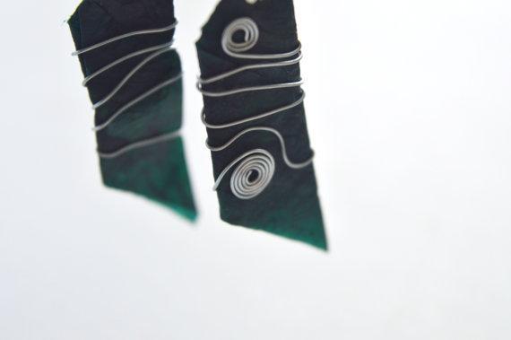 Spinning Galaxy Earrings