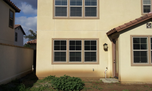 Windows-French Door conversion Before