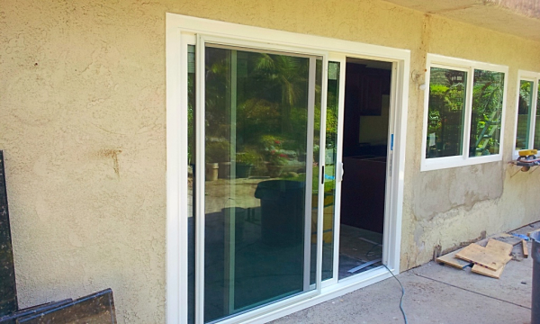 Patio Door After
