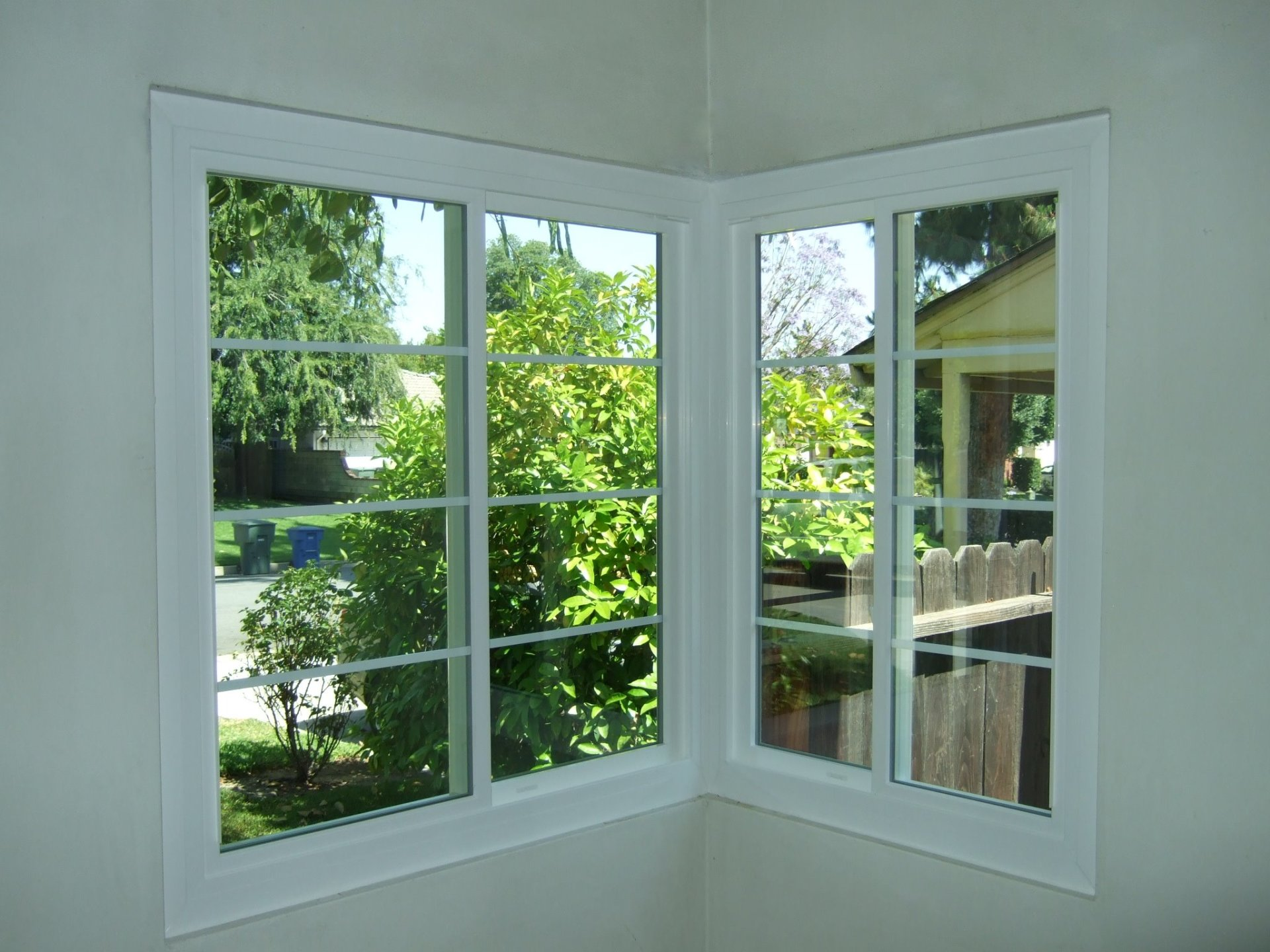 Corner Window After (Inside View)