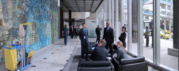 Office Tower Lobby