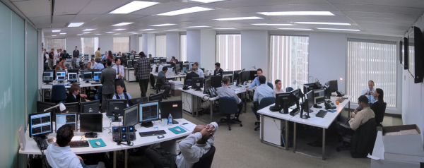 Wall Street Office - Trading Room