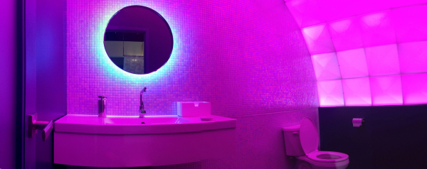 Aura Nightclub Bathroom
