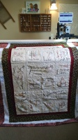 Christmas, quilting, longarm quilting, customer quilting