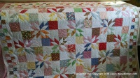 Hunter Star, Quilting, Longarm, edge to edge, custom quilting, longarm quilting services