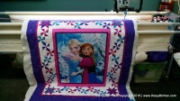 granddaughter, longarm quilting, quiltin, sewing, Christmas, present, gift, longarm