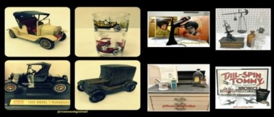 antique model t ford, antique dentistry, antique chemistry, antique aviation, vintage record albums