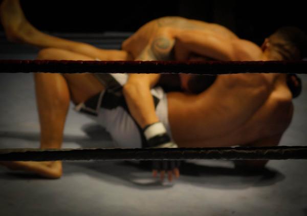 MMA Guillotine choke