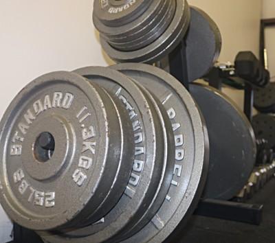 Weight lifting at Ronin MMA