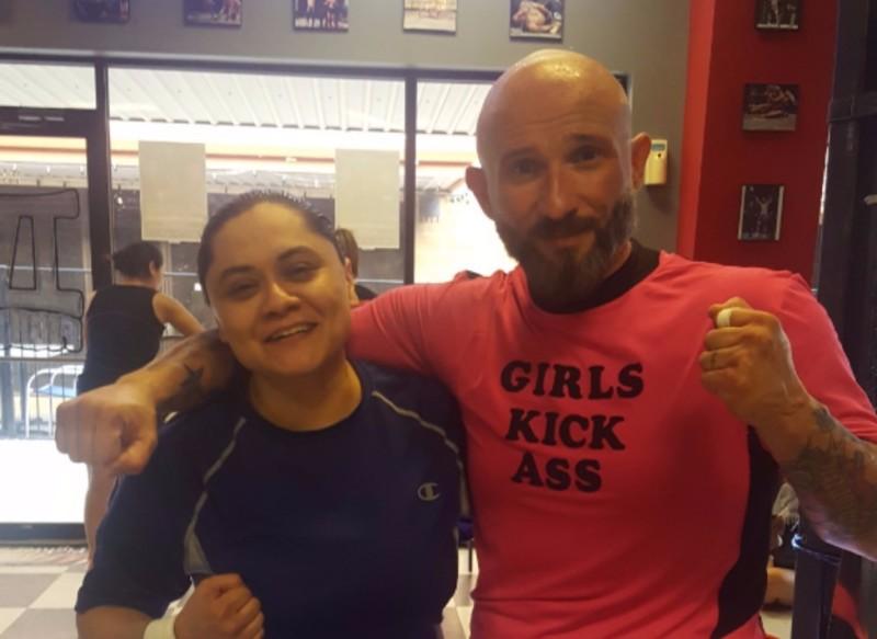 Felicia with Kru Bob Perez