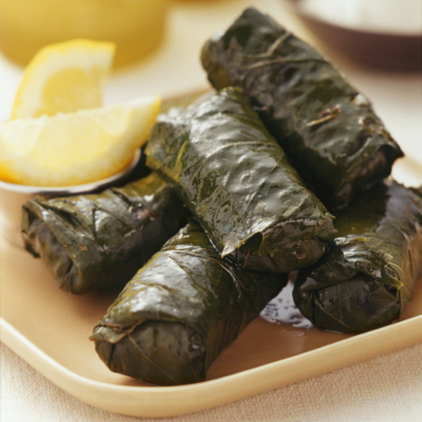 Veggie  grape leaves $5.49