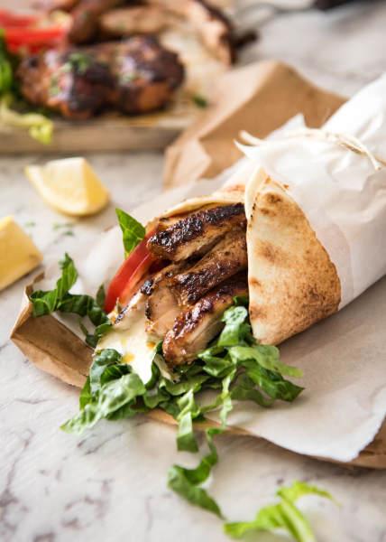 Wraps. Gyro, Falafel, Chicken( white meat) steak hummus