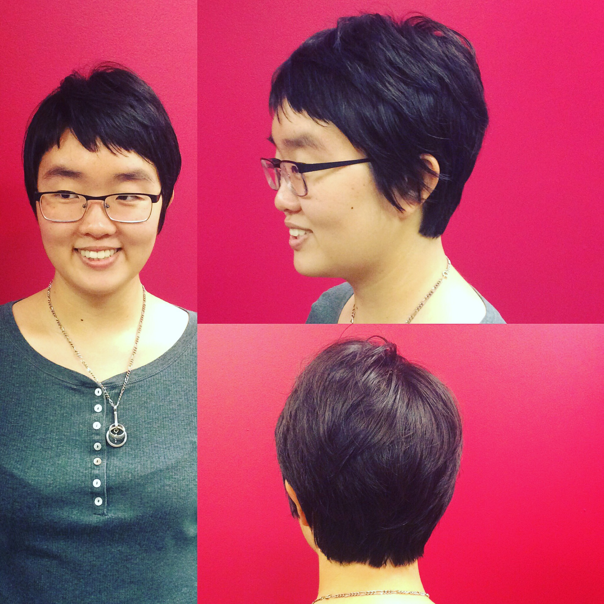 Pixie cut by Emily