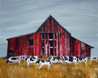 farm,country style, barn, cows