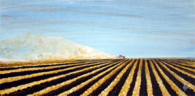farm, art, country
